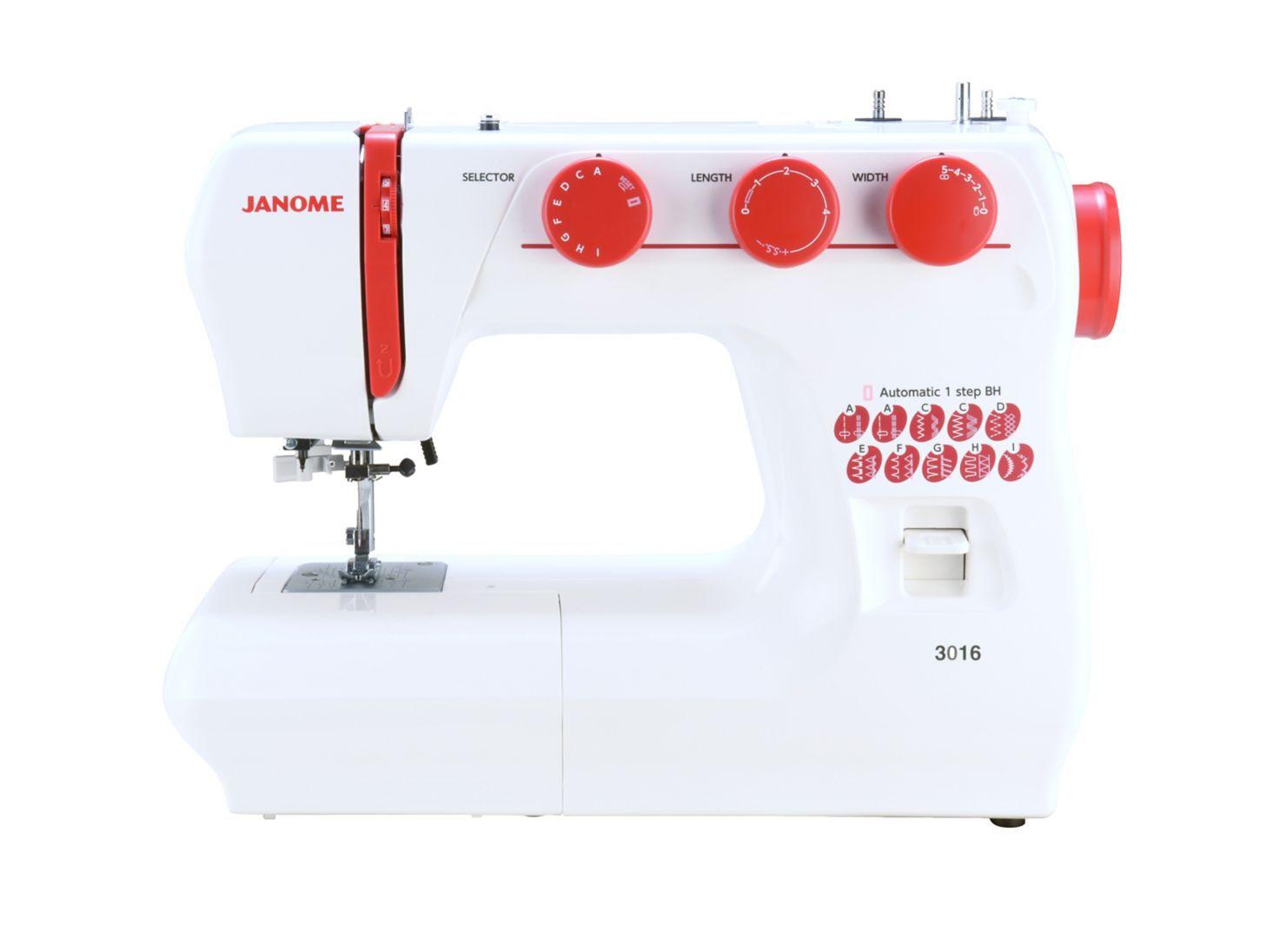 Máquina de coser Janome 3016 - Máquinas Tradicionales | Paris