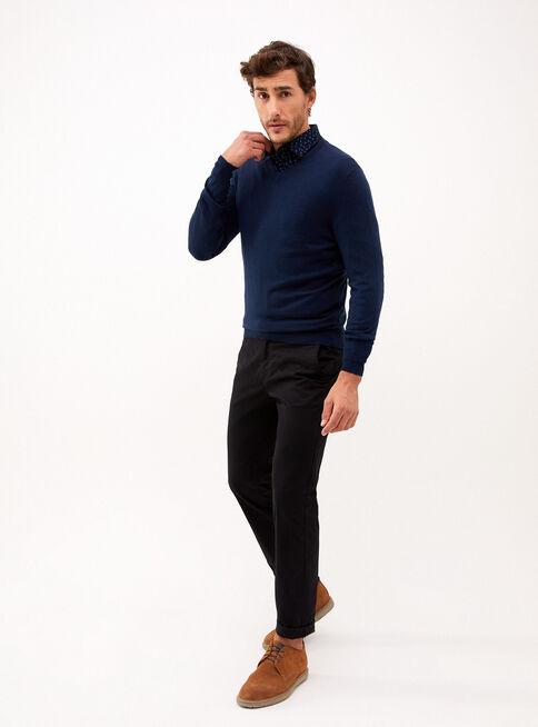 Sweater%20Cuello%20V%20Azul%20Melange%20Trial%C2%A0Sport%C2%A0%2CAzul%2Chi-res