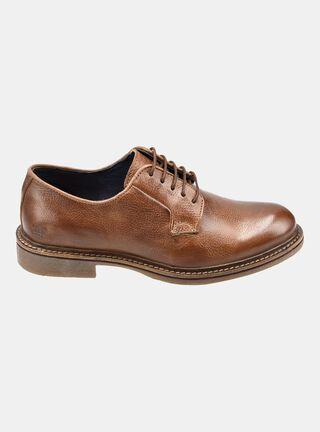 Zapato MR&MS Cammon Derby Tan Cafe Vestir,Cobre,hi-res