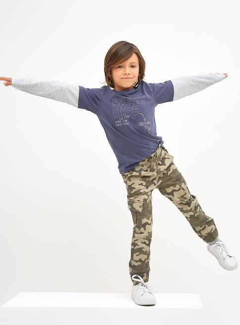 Pantalon Militar Cargo Nino Tribu Ropa Ninos Tallas 2 8 Paris Cl
