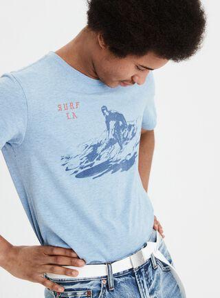 Polera Surf American Eagle,Negro Mate,hi-res