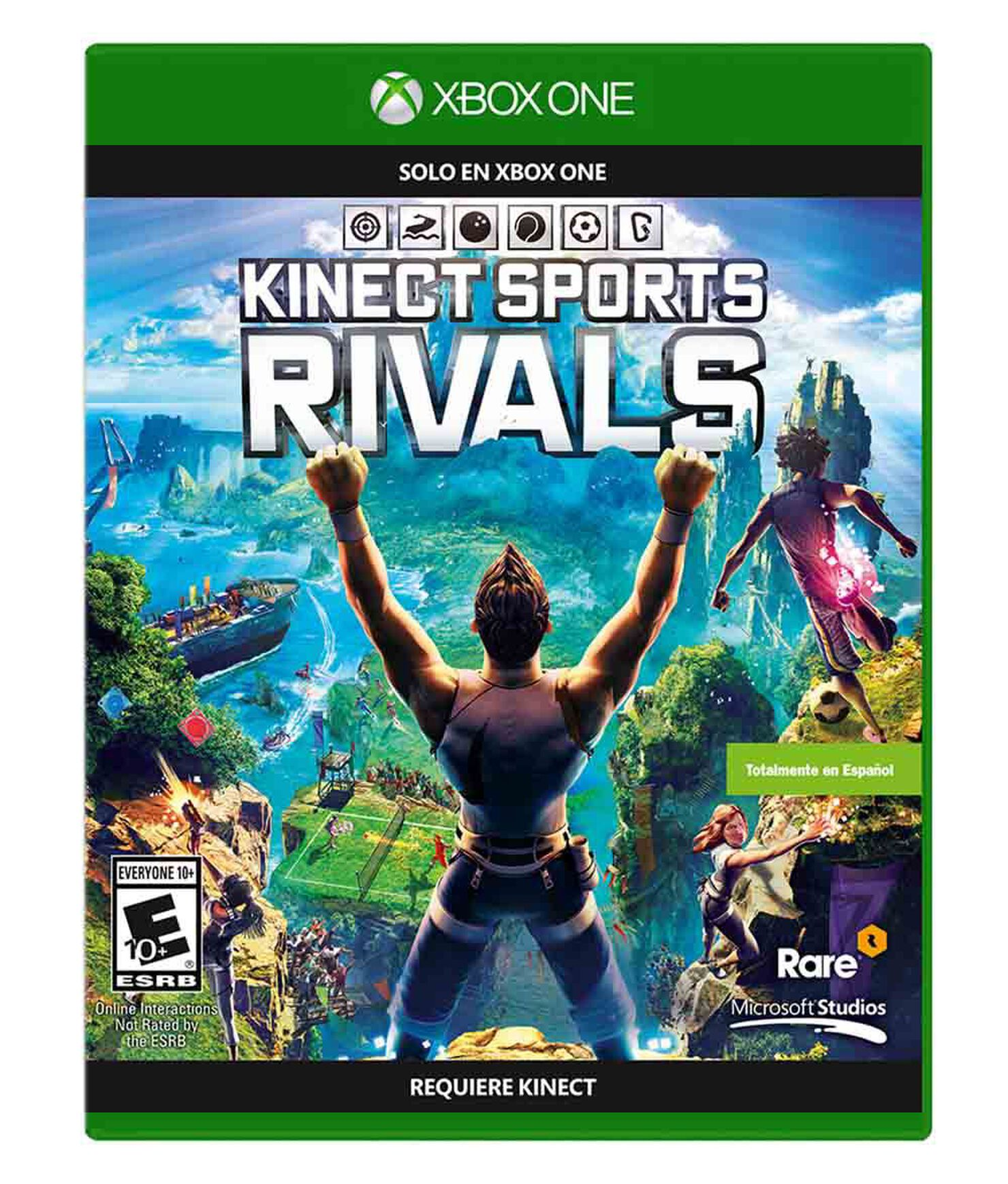 Juego Xbox One Kinect Sports Rivals Juegos Xbox One Paris
