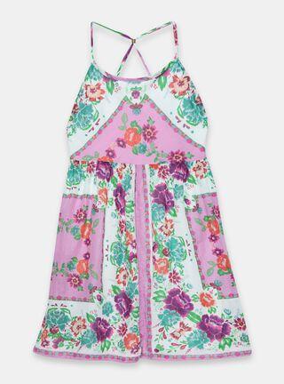 Vestido Umbrale Kids Largo Print 2 A 14 Niña,Diseño 2,hi-res