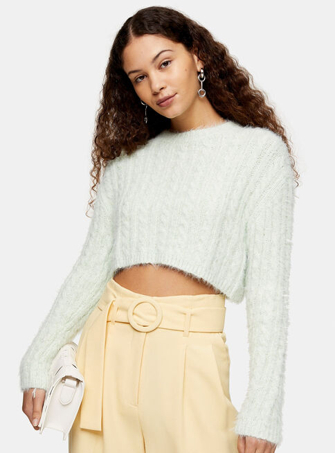 Chaleco%20Crop%20Sage%20Green%20Fluffy%20Cable%20Topshop%2C%C3%9Anico%20Color%2Chi-res