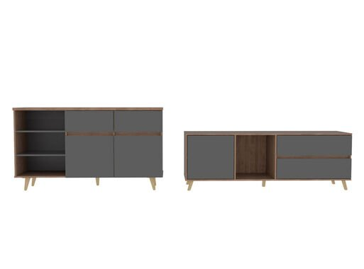 Combo%20Muebles%20Salem%20Miel%20Plomo%20Buffet%20%2B%20Rack%20TV%2060%22%20TuHome%2C%2Chi-res