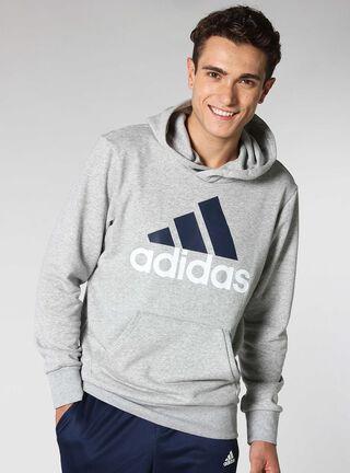 Polerón Adidas Deportivo Hombre Ess Lin,Gris,hi-res
