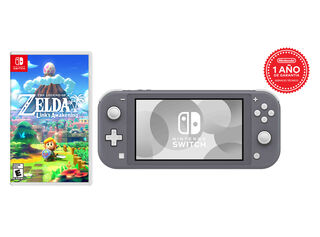 CONSOLA NINTENDO SWITCH LITE GRAY + TLOZ LINKS AWAKENING