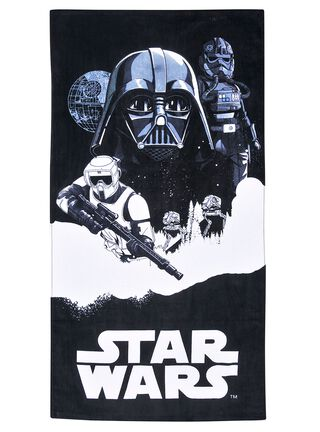 Toalla Playa Star Wars Battle 70x140 cm Licencias Infantiles,,hi-res