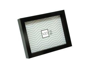 Marco de Fotos Plástico Box Attimo 20 x 25 cm,Negro,hi-res
