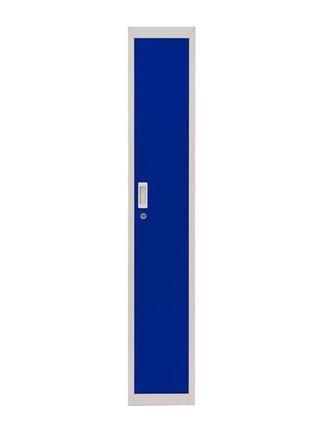 Locker Office Llaves Azul 1 Puerta 28x50x166 cm Maletek,,hi-res
