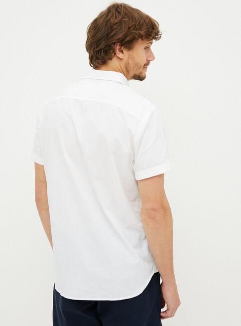 Camisa%20Poplin%20Basic%20Solid%20Custom%20Fit%20Tommy%20Hilfiger%2CBlanco%2Chi-res