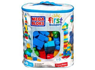 First Builders 80 Pcs Mega Bloks,,hi-res