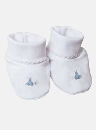 Zapatitos Lucky Baby Conejo Niño,Blanco,hi-res