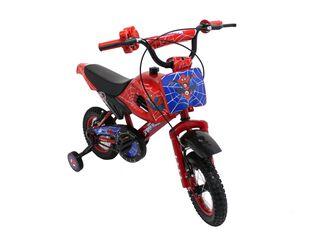 Motobike Spiderman Lashen Aro 12 Rojo,,hi-res