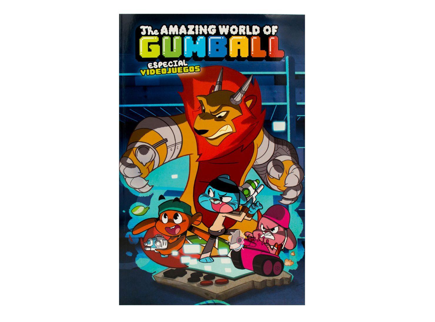 97cbcad0 Comics Norma El Asombroso Mundo De Gumball 4 Especial Video Juegos ...