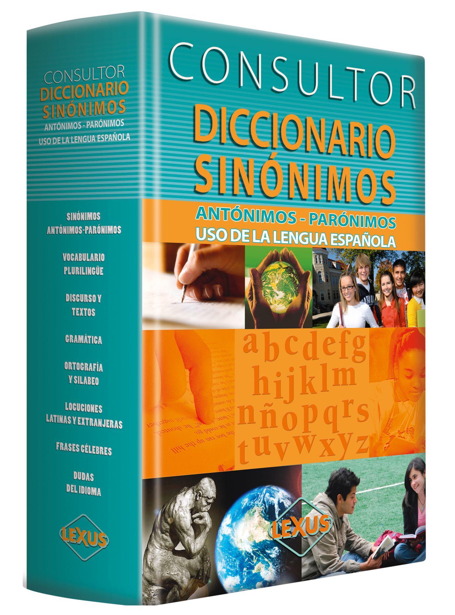 Sinónimos Consultor En Eds Libros Diccionario Especializados Lexus shdrtQxC