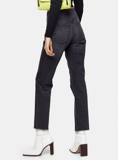 Jeans%20Straight%20Washed%20Black%20Largo%2032%20Topshop%2C%C3%9Anico%20Color%2Chi-res