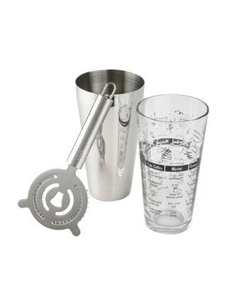 Set de 3 Piezas Coctelera Libbey Shaker,,hi-res