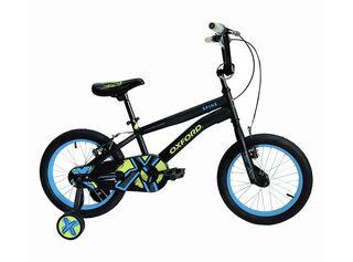 Bicicleta BMX Oxford Spine Aro 16 Hasta 120 cm,Negro Mate,hi-res