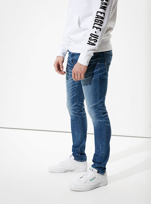 Jeans%20Skinny%20Athletic%20American%20Eagle%2CAzul%20Petr%C3%B3leo%2Chi-res