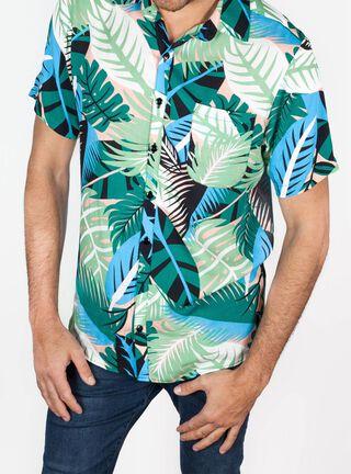 Camisa Manga Corta Vendaval Libre Apparel,Rosado Pastel,hi-res