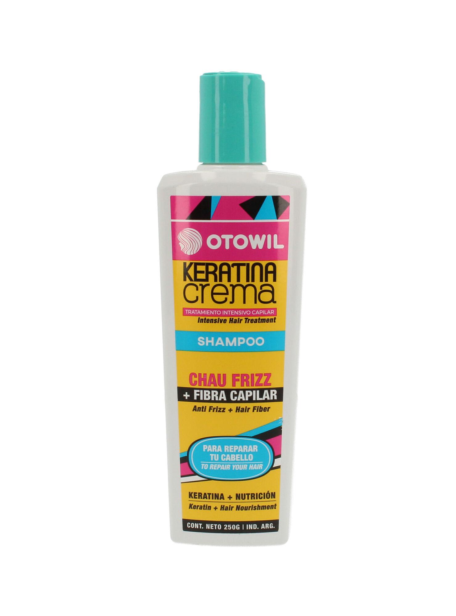 Shampoo Crema En Keratina 250 Ml Otowil Cuidado Capilar Paris Cl