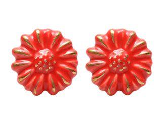 Set 2 Tiradores Flor Rojo Sarah Miller,,hi-res