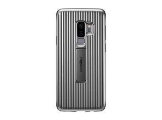 Carcasa Samsung Protective Standing Cover para Galaxy S9+ Plateado,,hi-res