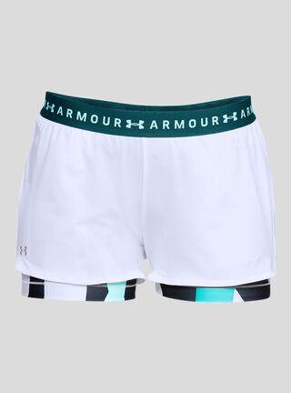 Short Mosaic Sport Under Armour,Blanco,hi-res