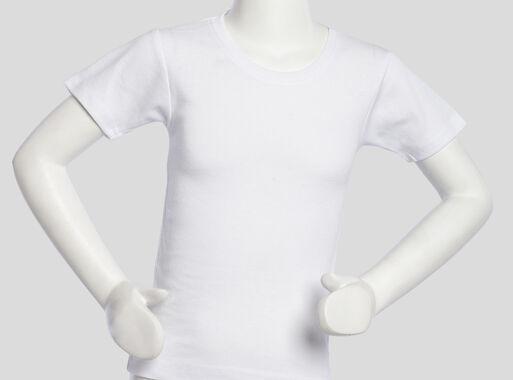 Camiseta%20Algod%C3%B3n%20Ni%C3%B1a%20Manga%20Corta%20Cuello%20Polo%20T2-4-6-8%20Tais%2CBlanco%2Chi-res