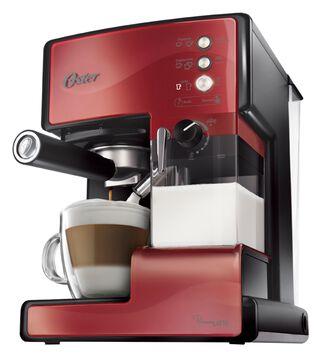 26a6877c286 Cafetera Espresso Oster Prima Latte Roja