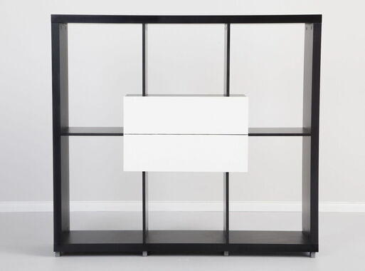 Repisero Tamburato 135x35x145 cm Attimo - Muebles de TV y Racks  12453d4be6b6