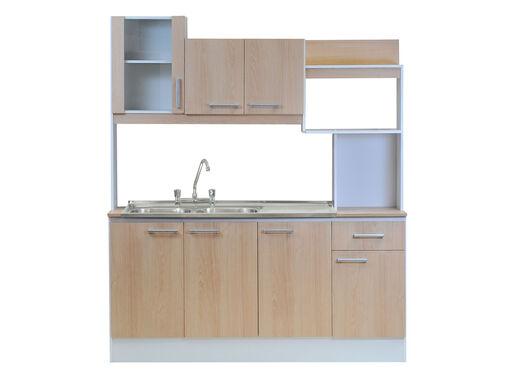 Kit Mueble de Cocina + Lavaplatos Doble Aconcagua Mobikit