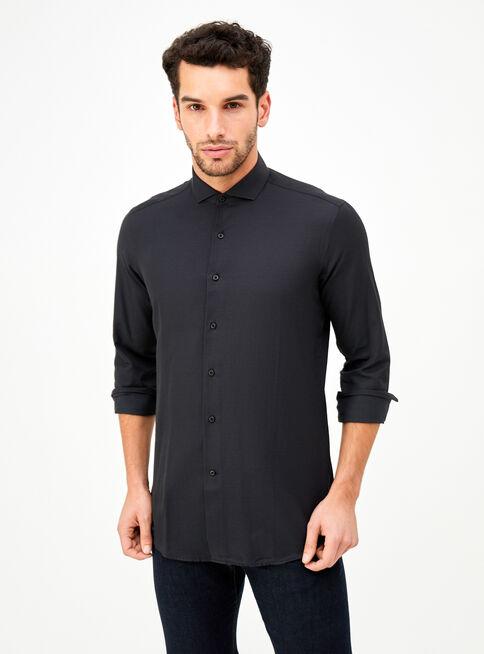 Camisa%20Color%20Liso%20Manga%20Larga%20Alaniz%2CNegro%2Chi-res