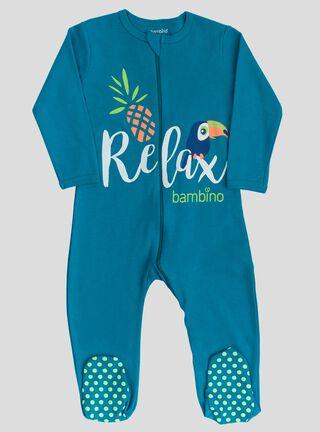 Pijama Bambino Tucán Niño,Azul,hi-res