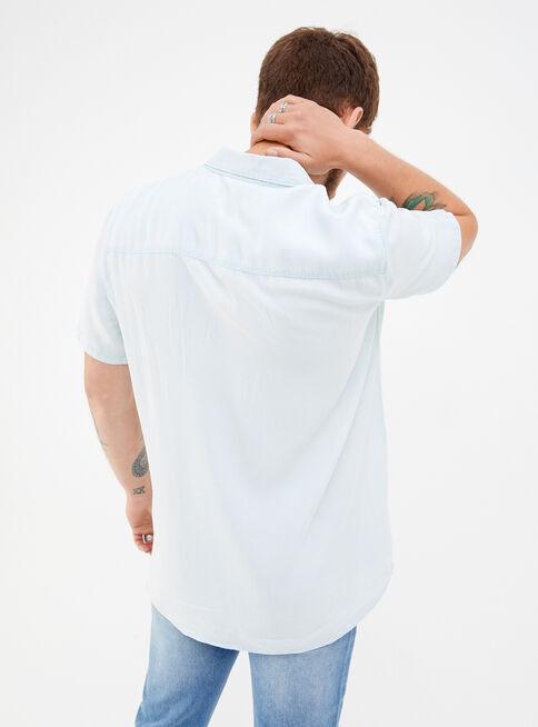 Camisa%20Manga%20Corta%20B%C3%A1sica%20Tencel%20Foster%2CCeleste%2Chi-res