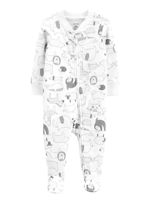 Pijama%20Algod%C3%B3n%20Animalitos%20Neutro%200%20a%209%20Meses%20Carter's%2CCrema%2Chi-res