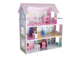 Casa de Muñecas Madera con Accesorios Kidscool,,hi-res