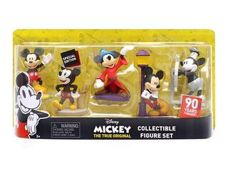 Set 5 Figuritas Mickey 90 Años de Magia Disney,,hi-res