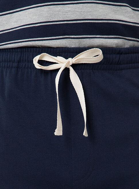 Pijama%20Largo%202%20Piezas%20Rayado%20Cuello%20V%20Arrow%2CAzul%2Chi-res