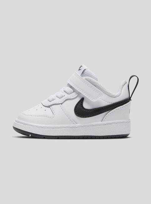 Zapatilla%20Urbana%20Nike%20Ni%C3%B1o%20Court%20Borough%20Low%202%20Velcro%20White%20Black%2CBlanco%2Chi-res