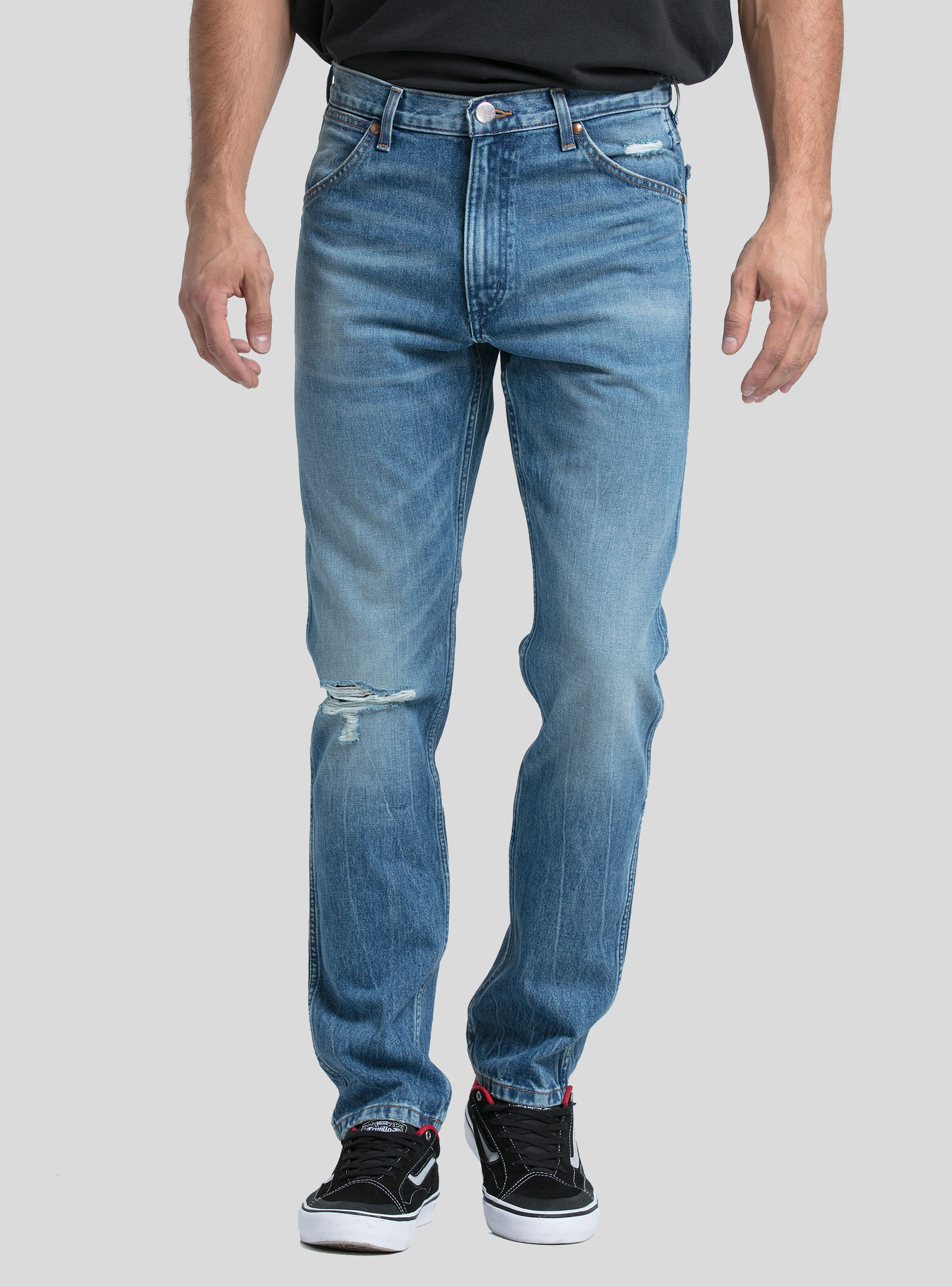 Icon Wrangler Jeans Azul Slim Fit CxBWdore
