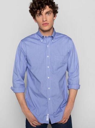 Camisa Casual Lisa Brooks Brothers,Azul,hi-res