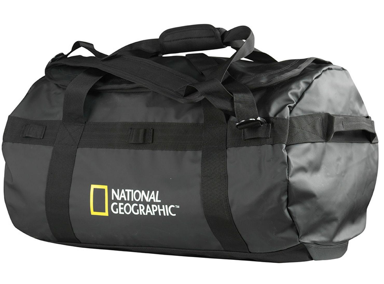 mitad de descuento ffde9 68f52 Bolso Travel Duffle 80 lt Negro National Geographic