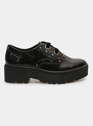 Zapato Casual Opposite Oxford Tachas,Negro,hi-res