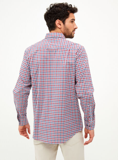 Camisa%20Fil%20Cuadros%20Granate%20Greenfield%2CGranate%2Chi-res