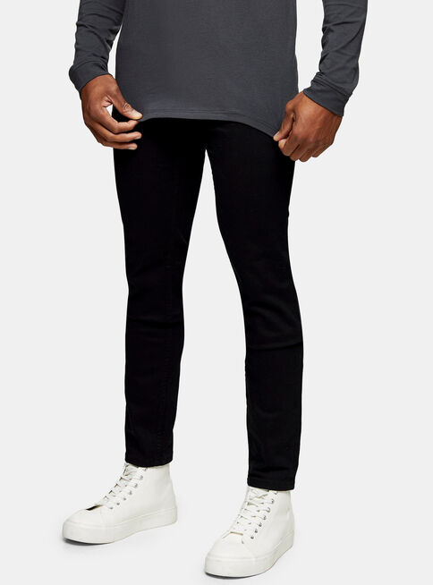 Jeans%20Negro%20Stretch%20Skinny%20Topman%2C%C3%9Anico%20Color%2Chi-res