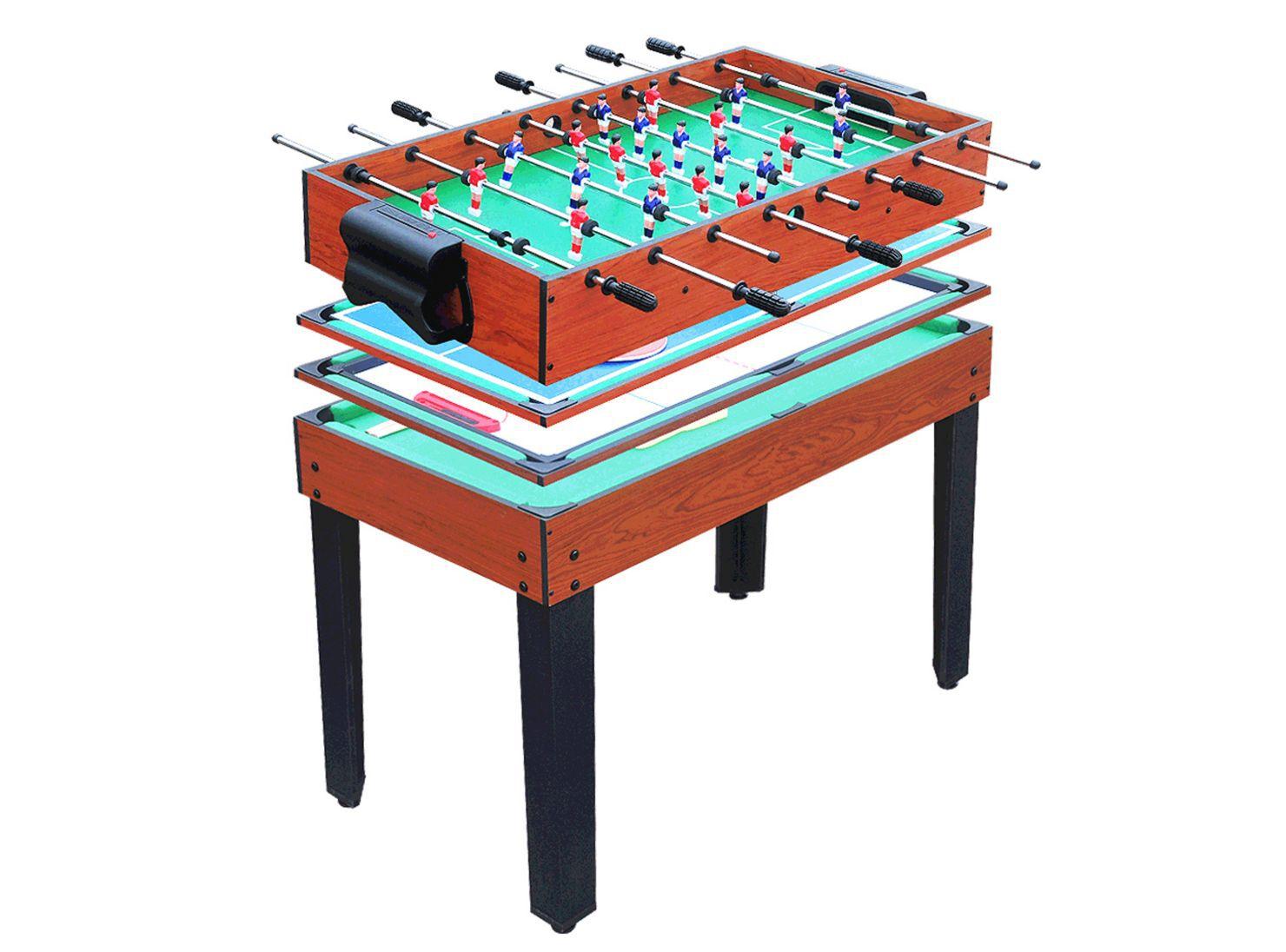 Mesa de juegos 4 en 1 Kidscool en Ping Pong y Mesas de Pool
