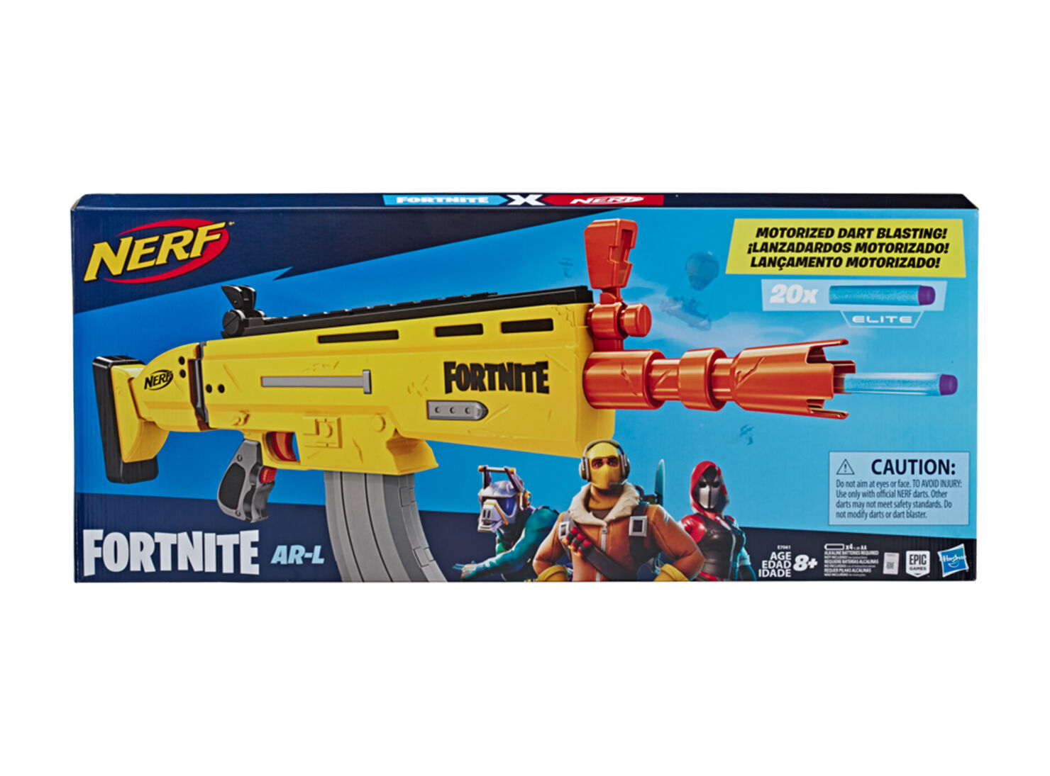 Wild West Fortnite Ar Nerf Fortnite Ar I Lanzadores Y Pistolas Juguete Paris Cl