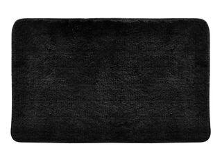 Piso de Baño Micro Soft Clau Aspen 50 x 80 cm,Negro,hi-res
